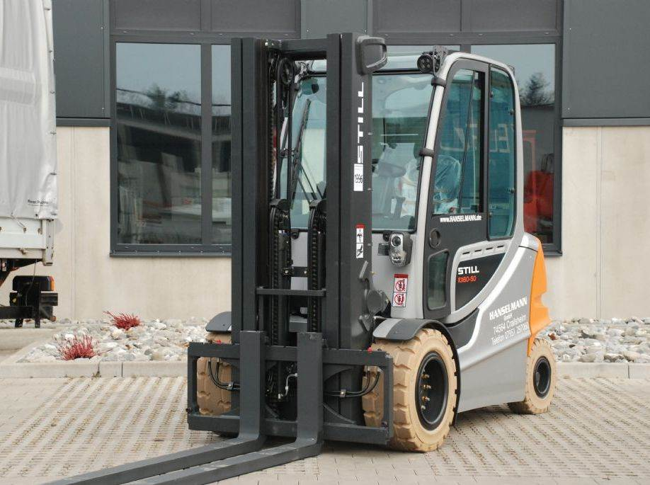Used still rx 60 50 electric forklift trucks year 2017 for Electric forklift motor for sale