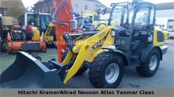 used wacker wl 44 wacker neuson wheel loaders year 2016. Black Bedroom Furniture Sets. Home Design Ideas