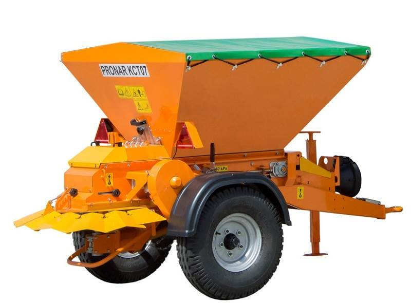 Sand Spreaders For Tractors : Used pronar kct sand and salt spreaders year price