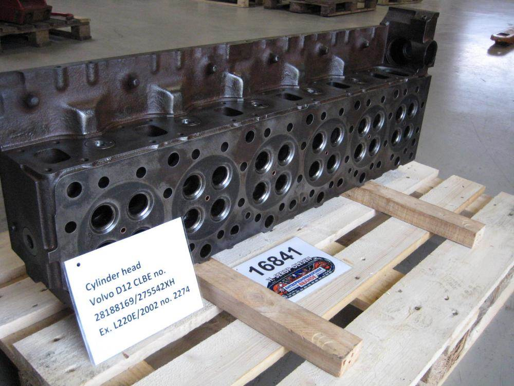 Used Volvo Cylinder Head Volvo D12 Clbe Engines For Sale