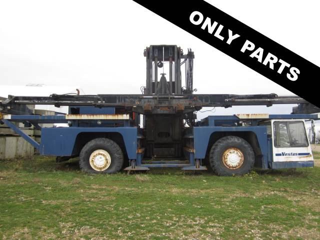 Used Fantuzzi Sc 400 Container Side Loader Forklift Trucks