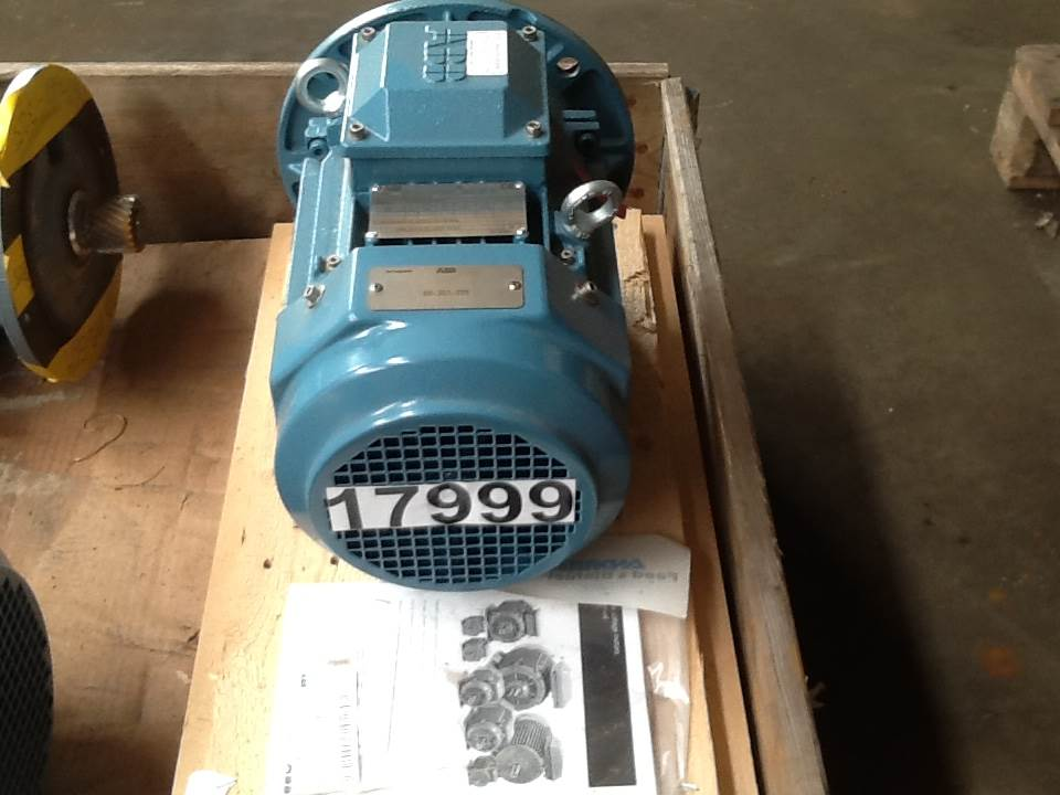Used 2 2 kw abb type m3bp 100lc4 e motor engines for sale for Type 4 motor for sale