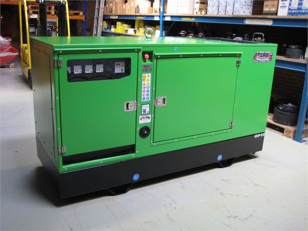 John Deere 60 Generator : Used john deere kva gp s j n generatorsæt
