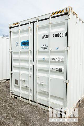 Purchase 10 x 8 storage container storage containers Bid Buy on