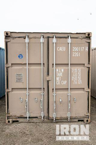 Purchase 8 x 20 storage container storage containers Bid Buy on