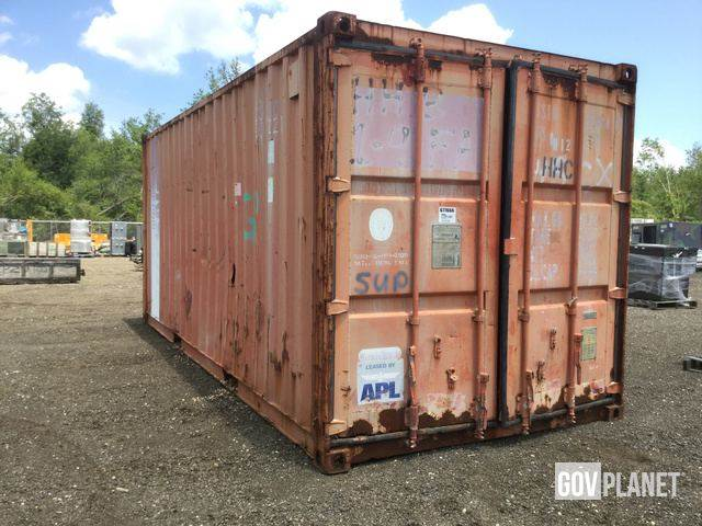 Purchase genstar storage containers Bid Buy on Auction Mascus USA