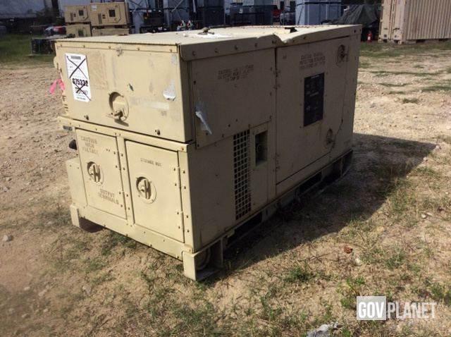 Purchase Libby MEP-803A 10kW diesel Generators, Bid & Buy on Auction