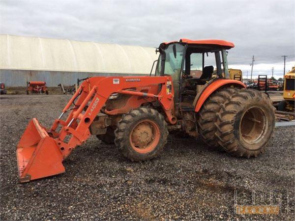 Kubota Tractors With Dual Wheels : Purchase kubota m d tractors bid buy on auction