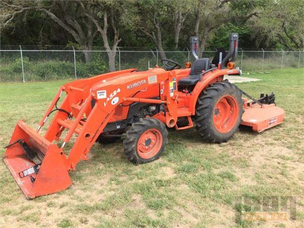 buy used kubota l3200d 4x4 tractors on auction