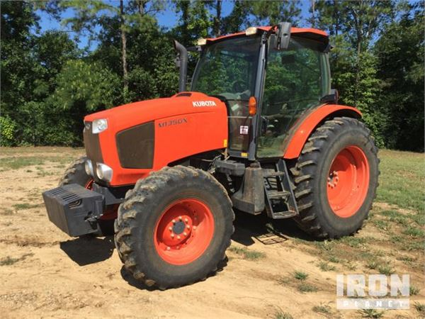 Dt Kubota M5500 Tractor Seats : Purchase kubota m gx tractors bid buy on auction