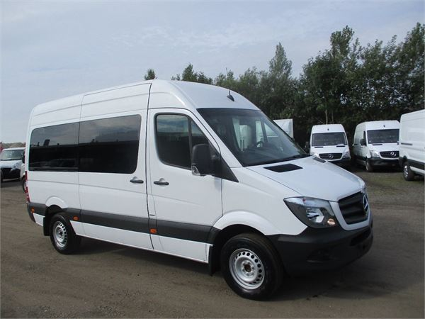 Used mercedes benz sprinter 316 mini bus year 2017 for for Mercedes benz sprinter used for sale