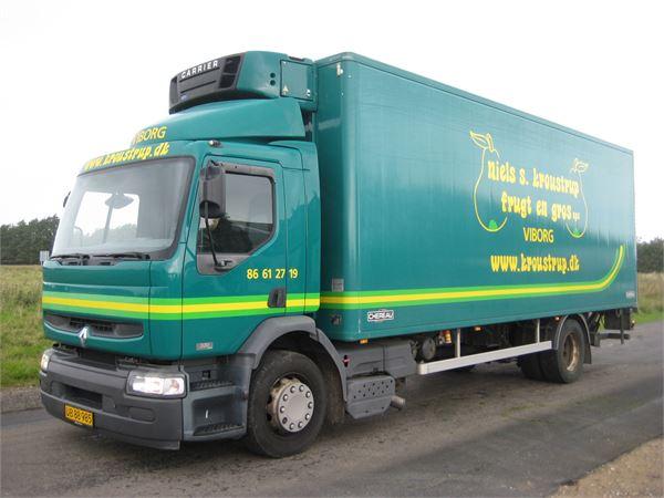 renault premium occasion prix 5 300 ann e d 39 immatriculation 2006 camion frigorifique. Black Bedroom Furniture Sets. Home Design Ideas