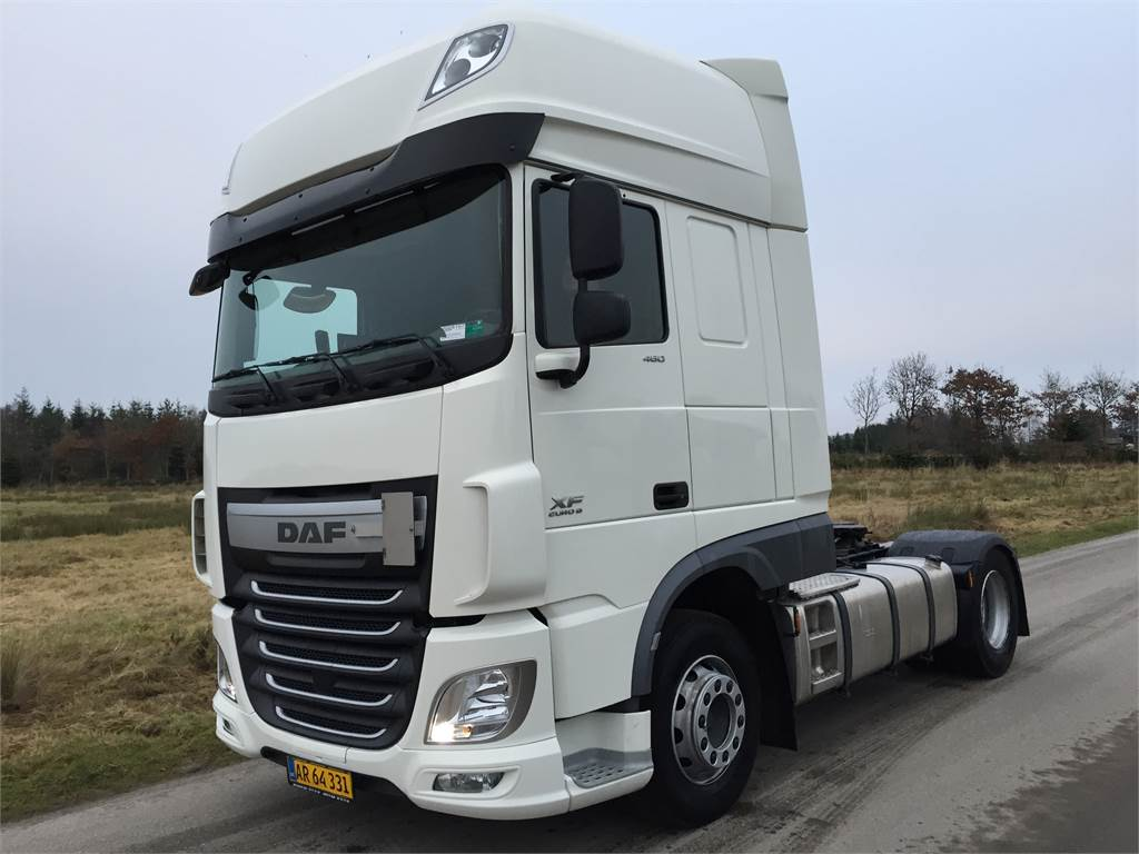 used daf xf 106 ssc 460 tractor units year 2014 price us