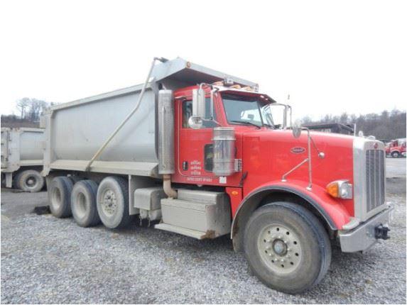 Tri Axle Show Trucks : Purchase peterbilt tri axle dump trucks bid buy on