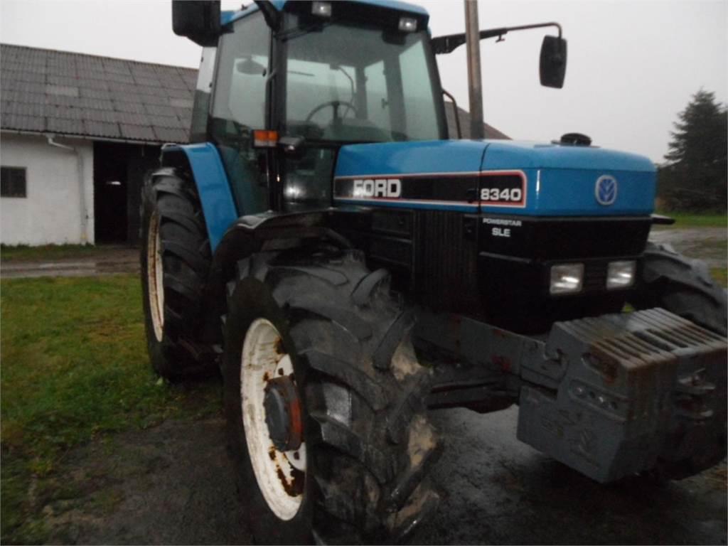 New Holland 8340 SLE. til salg Nykøbing Falster - Brugte New Holland 8340 SLE. Brugte traktorer ...
