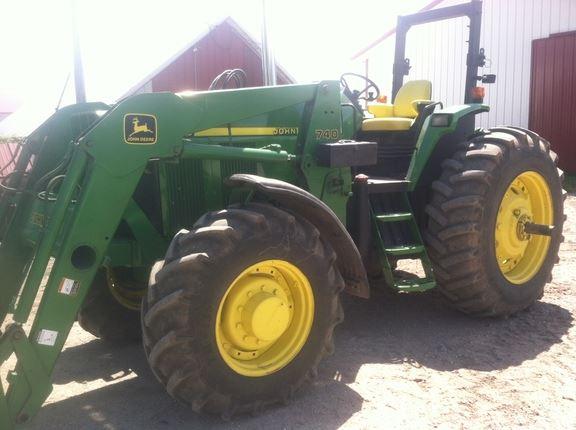 John Deere 7810 - Bouwjaar: 1998 - Tweedehands tractoren - ID
