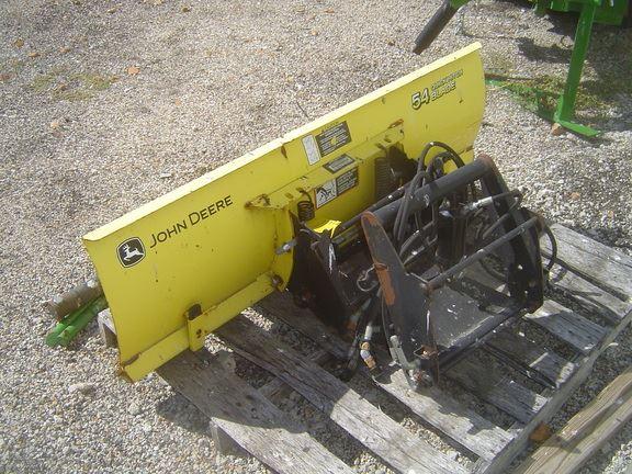 John Deere Snow Plow : John deere year snow blades and plows id