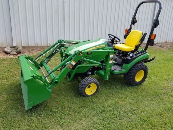 Compact Tractors Product : John deere r compact tractors price £ year