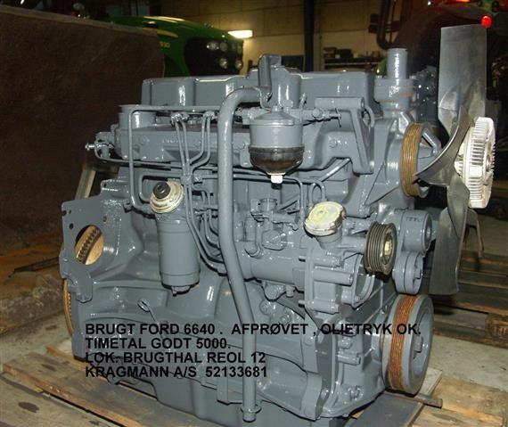 Used Ford 6640 Motor Brugt Other Tractor Accessories For
