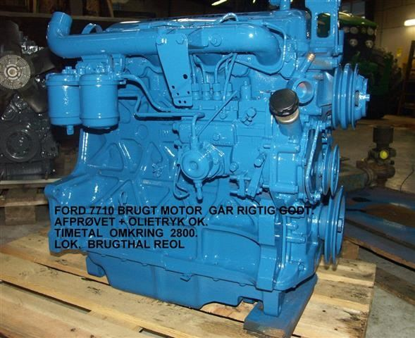Used ford 7710 motor brugt other tractor accessories for for Ford used motors for sale