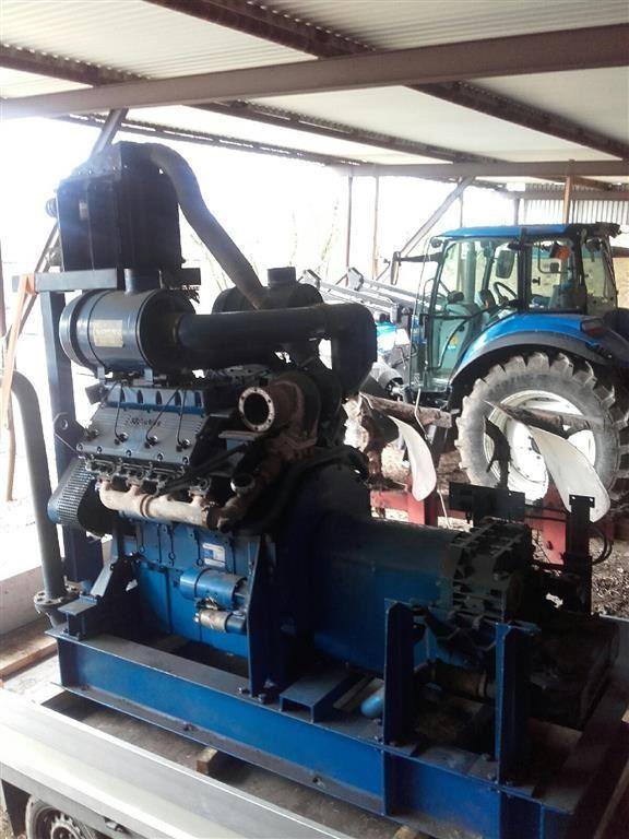V8 Perkins Motor Til Salg Middelfart Pris Kr