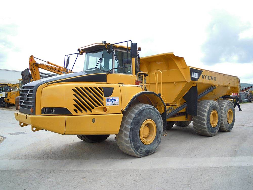 Used Volvo A35D articulated Dump Truck (ADT) Year: 2006 ...