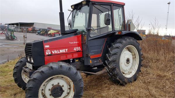 Valmet 455 til salg, Pris: kr. 88.727, Årgang: 1989 - Brugte Valmet 455 Brugte traktorer - Mascus DK