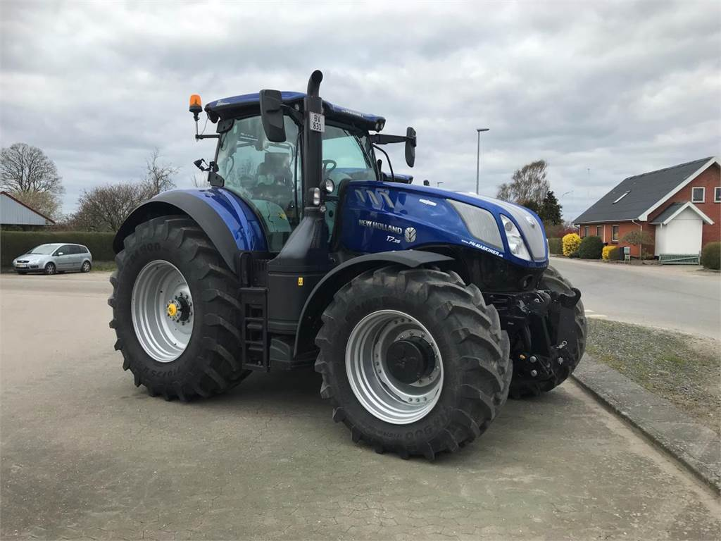 Blue Holland Tractors : New holland t ac blue power tractors price £