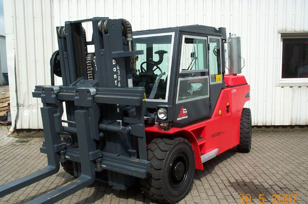 used dan truck 9680 dd diesel forklifts year 2007 price 78 364 for sale mascus usa. Black Bedroom Furniture Sets. Home Design Ideas