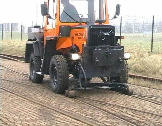 Used Mercedes-Benz MB trac 700 K Road and Rail,Unimog,Mb ...