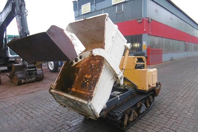 Used Gehlmax RD 15 Mini Dumper Articulated Dump Truck (ADT