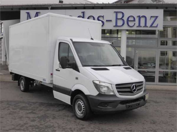 Used mercedes benz sprinter 316 cdi koffer lbw klima for Mercedes benz offers usa