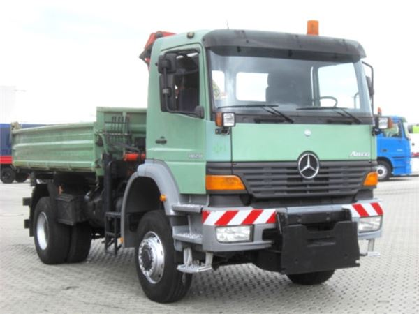 Used mercedes benz atego 1828 4x4 dreiseitenkipper for Used mercedes benz tipper trucks for sale in germany
