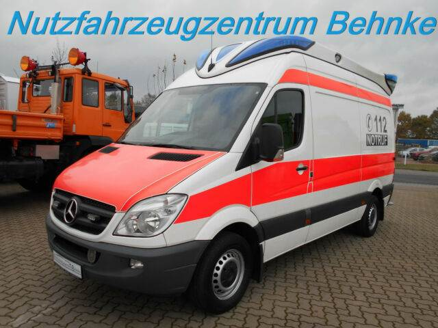 mercedes benz 316 cdi sprinter rtw ambulanz mobile. Black Bedroom Furniture Sets. Home Design Ideas
