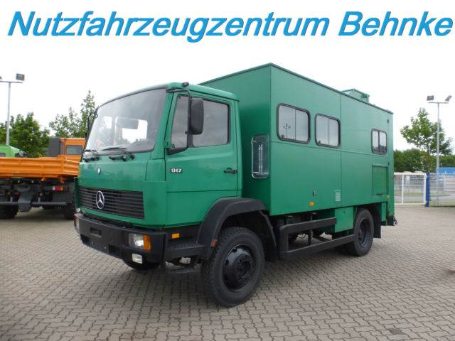 Used mercedes benz lk 917 koffer standklima 4x4 1 hand for Mercedes benz truck 4x4
