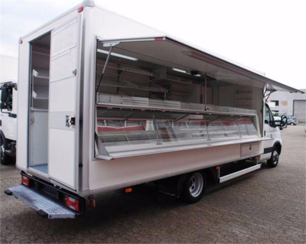 iveco daily 50c15 verkaufswagen kuhltheke 5 meter tuv. Black Bedroom Furniture Sets. Home Design Ideas
