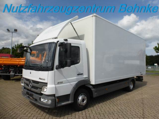 Used mercedes benz atego 818 luft koffer euro 5 lichtband for Mercedes benz offers usa