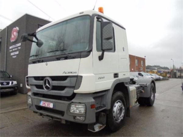 Used mercedes benz actros 2041 s kein 1844 schwere chassis for Mercedes benz f cell price
