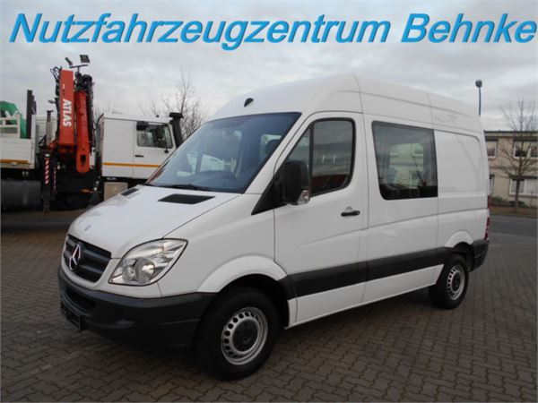 mercedes benz sprinter 210 cdi ka l1h2 automatik standhzg. Black Bedroom Furniture Sets. Home Design Ideas