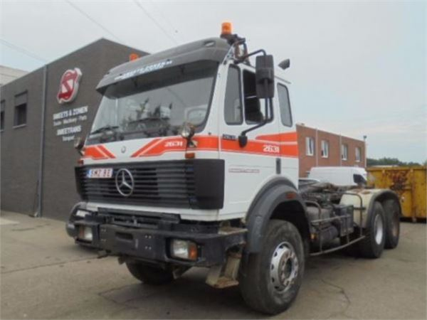 Used mercedes benz 2631 tow trucks wreckers year 1994 for Mercedes benz trucks price list