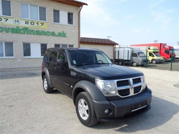 dodge nitro 4x4 crd euro 4 2008 manual vin 688 preis baujahr 2008 pickup. Black Bedroom Furniture Sets. Home Design Ideas
