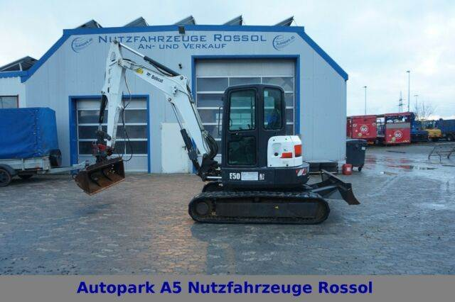 used bobcat e50 minibagger schnellwechsler 5t mini excavators. Black Bedroom Furniture Sets. Home Design Ideas