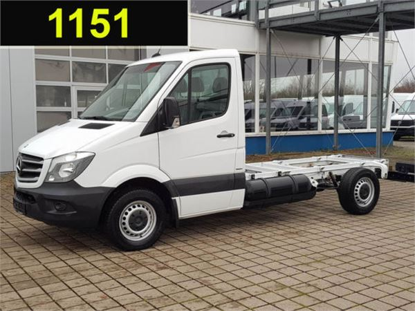 Used mercedes benz sprinter 316 ngt fahrgestell lang l2 for Mercedes benz sprinter 2015 price