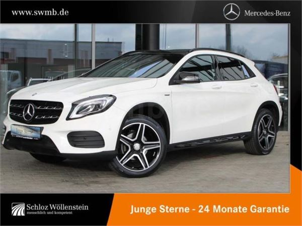 Used mercedes benz gla 200 amg line night paket parkass for Mercedes benz product line