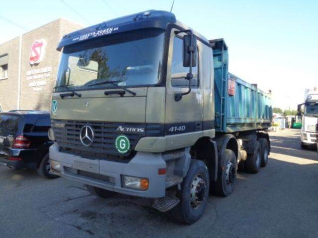 Mercedes benz actros 4140 ak 8x6 tipper trucks year of for Used mercedes benz tipper trucks for sale in germany