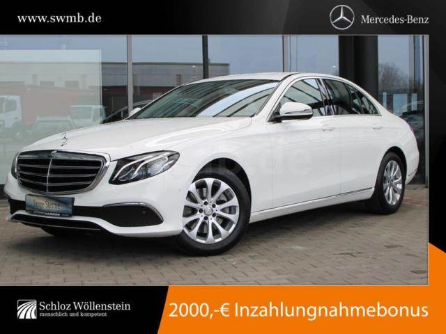 Used mercedes benz e 200 4m exclusive kamera navi pdc cars for Mercedes benz inspection cost