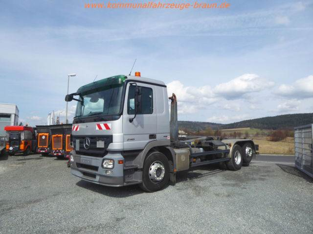Used mercedes benz actros 2645 meiller euro5 t v neu top for Mercedes benz trucks price list