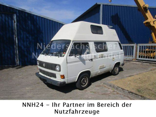 volkswagen t3 1 6d wohnmobil mit hochdach preis. Black Bedroom Furniture Sets. Home Design Ideas