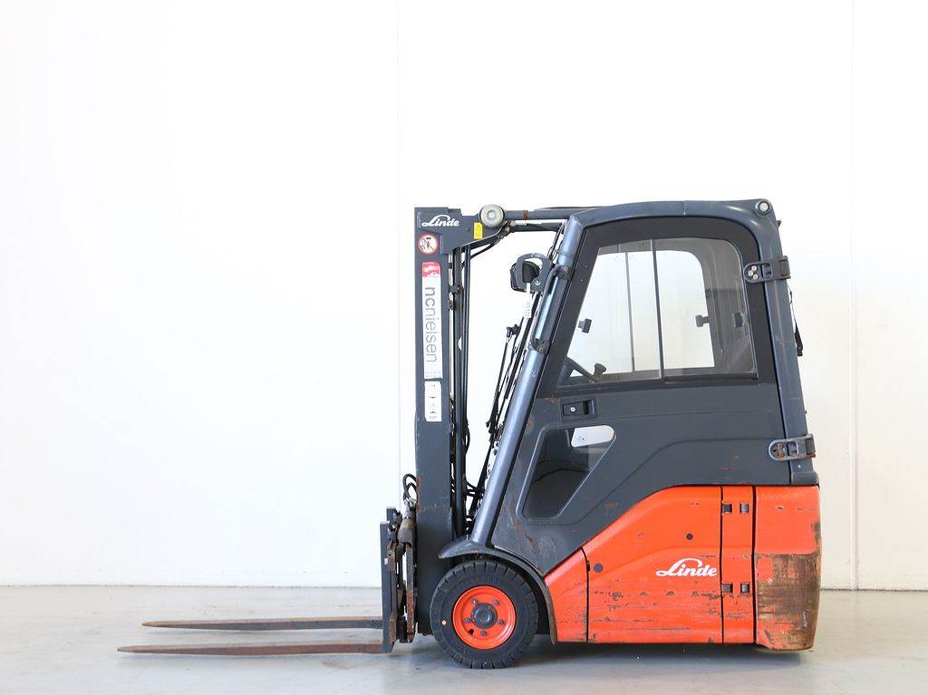 Used linde e14 386 electric forklift trucks year 2009 for for Electric forklift motor for sale