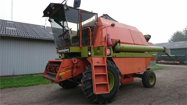 Combine Harvester Parts : Dronningborg d s for parts combine harvester